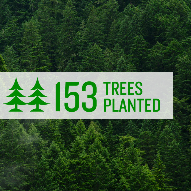 153 Trees Planted