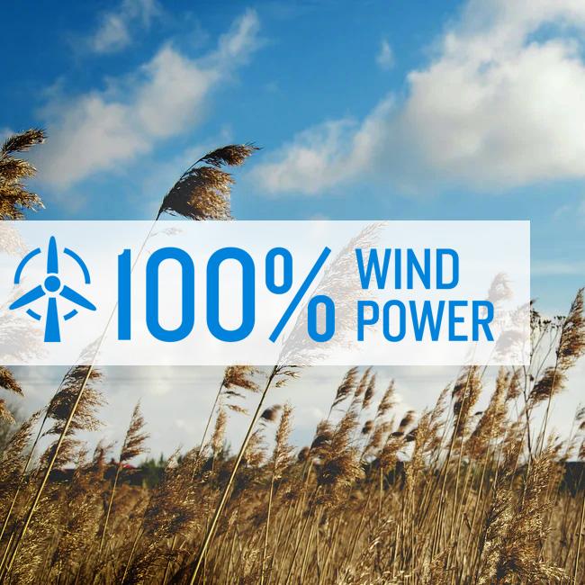 100% Wind Power
